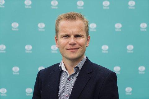 Vidar Faksvåg Hansen er valgt som ny visepresident i Tekna.