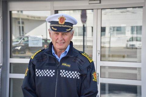 Stasjonssjef Bjørn Fiske ved politiet i Kristiansund sier nordmøringene er lovlydige, og tror ikke det blir påskekaos på utfartsstedene.