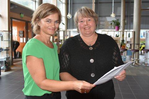 BYTTE?: Ordfører Margrethe Svinvik (Sp) ser ikke behovet for utredning av fylkestilhørighet nå, mens Annett Ranes (Ap) ikke er avvisende til at også Surnadal må vurderer å utrede mulighetene for fylkesbytte.