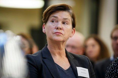 Politikerne i Ålesund uttrykker sterk bekymring over innsparingstiltak som vil redusere spesialisthelsetjenestetilbudet i Møre og Romsdal. Her er Ålesund-ordfører Eva Vinje Aurdal.