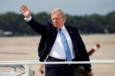 USAs president Donald Trumps har kommet med ytterligere trusler om straffetoll på kinesiske produkter.