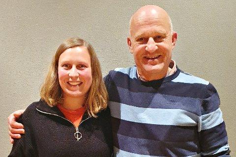 Ingrid Waagen og Arne Magnus Aasen blir henholdsvis ordfører og varaordfører i Tingvoll de neste fire årene.
