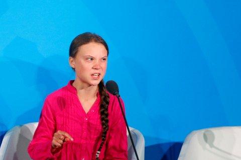 Greta Thunbergs tale på FNs klimatoppmøte i New York.