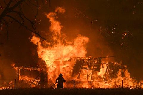 Enorme materielle skader og tap av mange menneskeliv etter brannene i Australia. Dette vil gjenta seg, mener Øystein Folden.