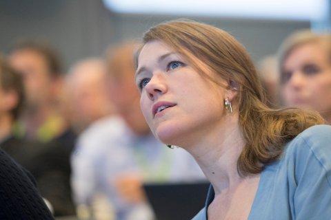 KRITISK: MDGs Une Bastholm er kritisk til det nye oljefeltet Johan Sverdrup.