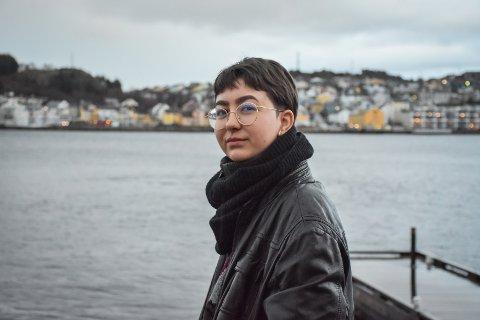 Peyton Christina Viggen (20) er daglig leder i det nye selskapet Flur Spectre Da.