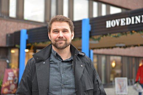 Klinikksjef for Klinikk SNR, Georg Johnsen.