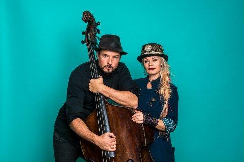 Steinar Raknes og Unni Wilhelmsen spiller torsdag på Kulturfabrikken i Kristiansund.