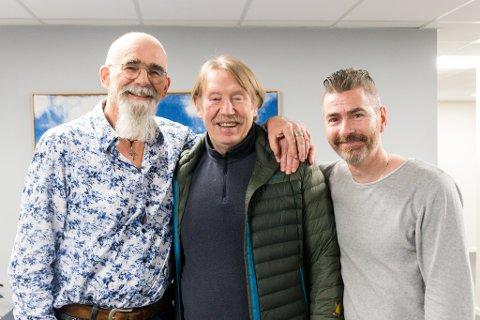 Skal skape leven: Erik Blomstrøm (f.v.), Gøsta Lindh og Kjetil Høyvik.