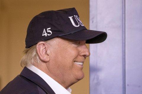 NEGATIV: President Donald Trump har testet negativt på koronaviruset.