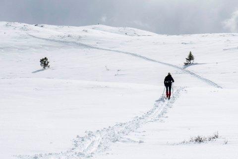 Snøfallet midt i påskeuken sørget for fine skiforhold i Sødorpfjellet i Gudbrandsdalen.
