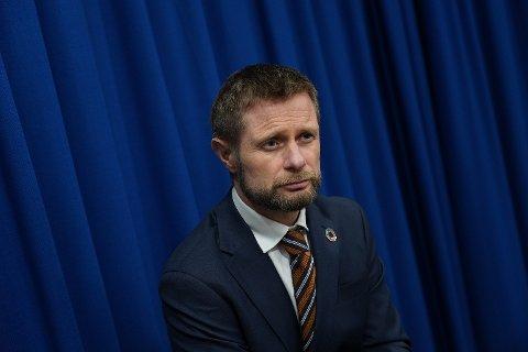 – Innsatsen fra den norske befolkningen har gitt oss et solid overtak, sa helse- og omsorgsminister Bent Høie under mandagens pressekonferanse om koronasituasjonen.