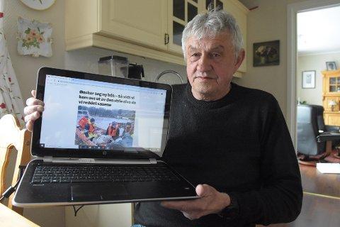 SPØR: Ragnar Halle (Sp) vil i torsdagens kommunestyre i Surnadal spørre om det er mulig å finne penger til innkjøp av båt, en investering politikerne har skjøvet fram til 2023.