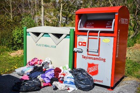 22. mars gikk Fretex ut å ba folk oppbevare klær hjemme. Budskapet gikk ikke hjem hos alle ...