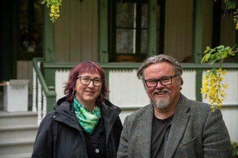 Styreleder Eva Heidi Lund Silseth og produsent Tommy Fossum i JazzåTeatret Produksjon inviterer til en annerledes «Lady» i år.