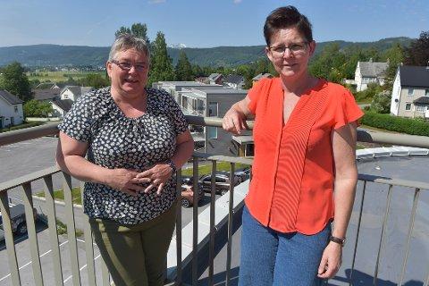 OPPFORDRING: Ragna M. Mauset i Surnadal Bondelag og Nina Torvik i Surnadal Sau og Geit håper aktører i landbruket og det øvrige næringsliv i Surnadal tar oppfordringen og ansetter ungdom i sommerjobber.