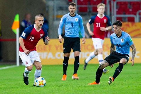 Tobias Svendsen var en del av U-20-landslaget som spilte VM forrige sommer. Nå forlater han moderklubben Molde til fordel for HamKam.