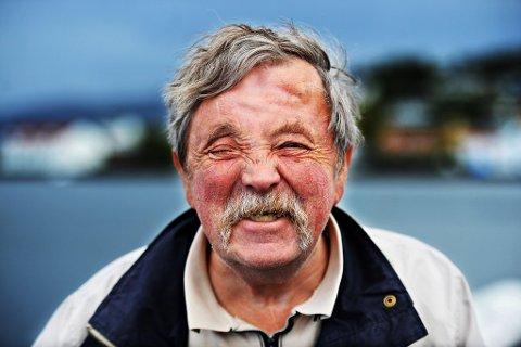 Asbjørn Erlandsen var en fargeklatt i bybildet. Nå er han borte.