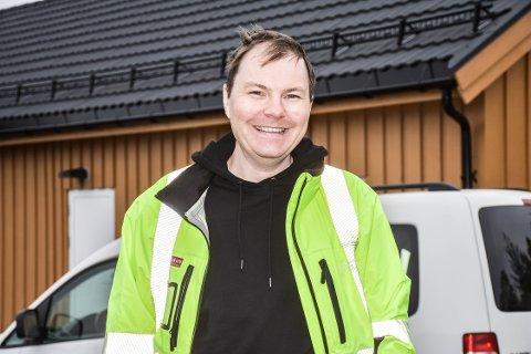 NY JOBB: Etter 14 år i oljebransjen har Ødegård nå tatt en ny retning.