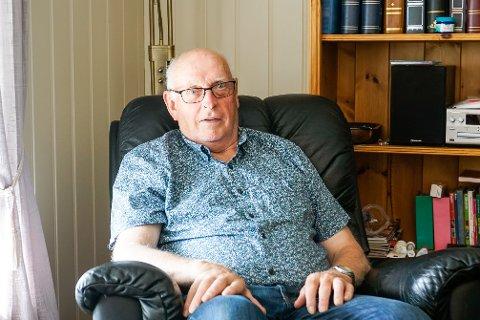 Aksel Haugen fra Aspøya har vært gjennom en hard tørn på sykehuset etter at han ble koronasmittet.