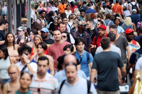 Verdens befolkning når 8,8 milliarder i 2100.