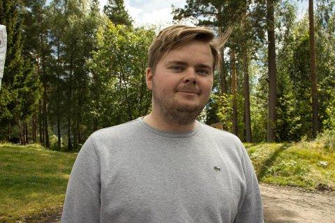 Jakob Vorren (Ap) fra Sunndal er stolt og glad for å være ny politisk rådgiver i Samferdselsdepartementet.