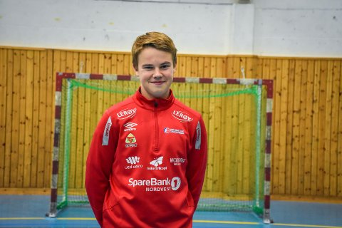 Øystein Mostad (16) er tatt ut til landslagssamling.