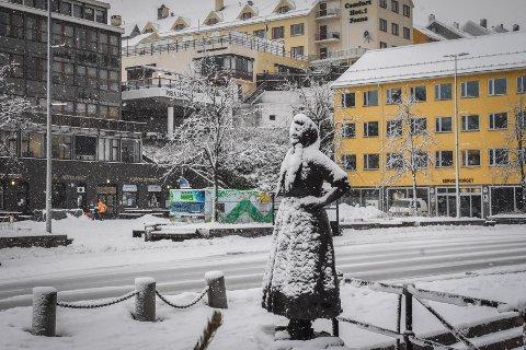 Snøfallet på tirsdag er trolig bare starten på snøværet de kommende dagene.