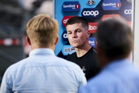 Trolig ferdig i RBK: Rosenborg-spiller Pål André Helland har to år igjen av sin kontrakt med trønderne, men nå tyder mye på at kantspilleren er på vei bort fra Trondheim. Men en av Norges største fotballprofiler er neppe aktuell for KBK.