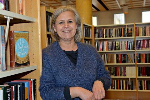 Kristiansund er med i Litteraturhus i Møre og Romsdal. - Mandag kommer forfatter Olaug Nilsen, sier biblioteksjef Elisabeth Soleim.