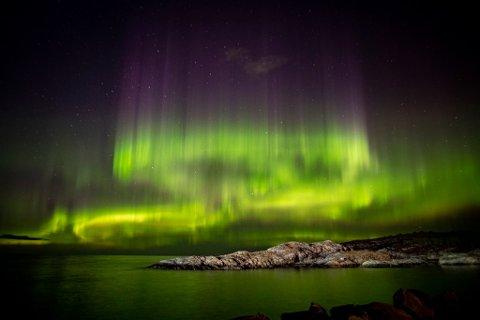 De neste dagene er det gode forhold for nordlys over store deler av Norge, blant annet Nordmøre.