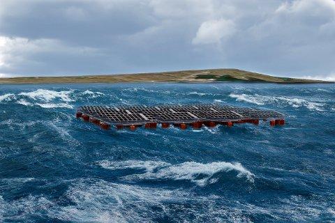 Equinor skal i løpet av året sette i drift et flytende pilotanlegg for solkraft utenfor Frøya.