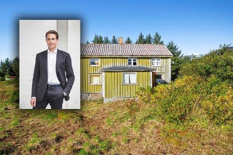 Øyvind Kaul Kragerud ønsker å restaurere småbruket til det opprinnelige uttrykket.