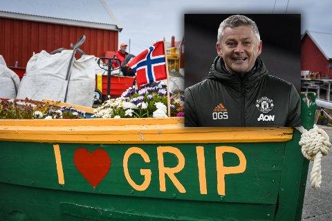 Ole Gunnar Solskjær <3 Grip.