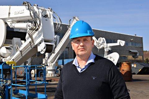 – Vi skal satse i Averøy. Målet er å ha en avdeling med minst like mange ansatte som i dag, sier Bjørn André Bergseth som leder Macgregors ettermarked for fiskeri og forsking i Norge.