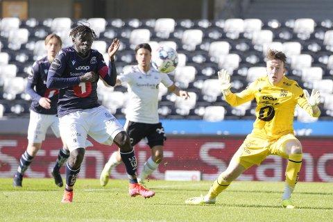 Aliou Coly, Sean McDermott og KBK tapte mot Rosenborg