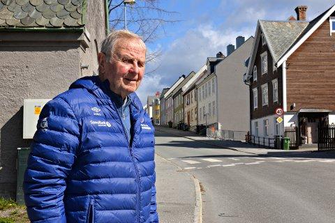 Marokkaner Lorentz Boxaspen vil at Dalegata fra Grunden til rundkjøringen skal skifte navn til Dyre Halses gate.