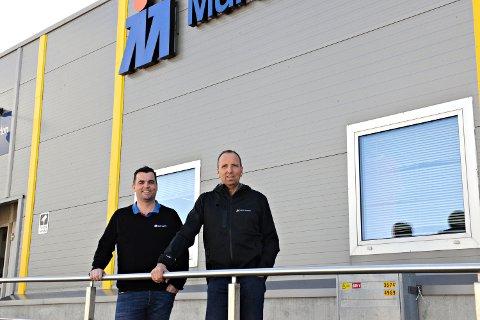 Tommy Vebenstad (til venstre) og Per-Magnus Røeggen startet Multi Marine for 25 år siden.