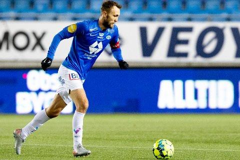 Moldes nøkkelspiller Magnus Wolff Eikrem kan miste seriestarten mot Kristiansund. Foto: Svein Ove Ekornesvåg / NTB