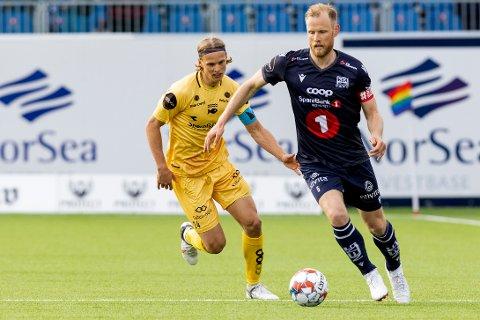 Dan Peter Ulvestad og KBK tapte mot Bodø/Glimt.