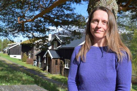 Hanne Dahlen ønsker at Åkerfallet skal bli brukt og vil gjerne formidle kultur og historie.