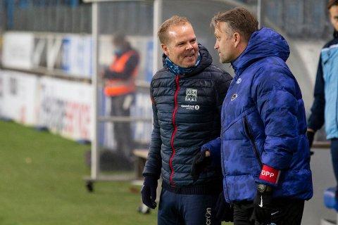 Christian Michelsen og KBK og Erling Moe og Molde braker sammen på Aker stadion søndag.