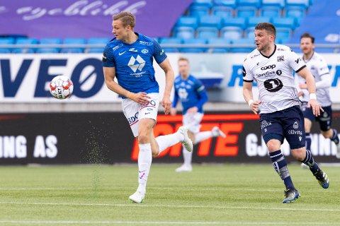 Stian Rode Gregersen og Molde var best mot Flamur Kastrati og KBK søndag.