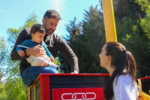 Luca begynte i barnehagen for en måned siden etter å ha tilbrakt store deler av sitt første leveår kun sammen med foreldrene sine.