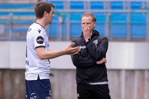 Andreas Hopmark fortsetter som midtstopper i KBK. Trener Christian Michelsen har valgt å vrake lagkaptein Dan Peter Ulvestad.