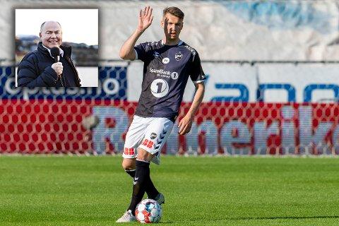 Odds Odin Bjørtuft mener at Odd er en bedre klubb enn KBK. Rune Edøy er ikke enig.