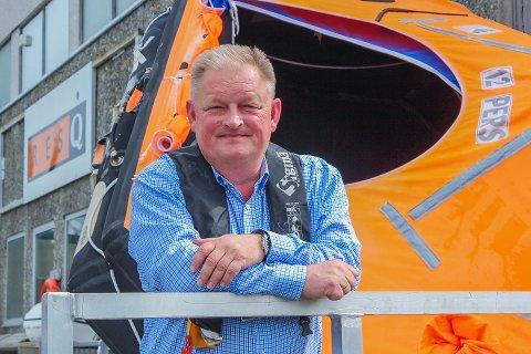 – Dette blir spennende, forteller Jan Erik Rolland, ny daglig leder for Resq Kristiansund.