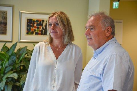 Heidi Nilsen og Knut Ragnar Heimdal sier det er full trøkk i SNR-prosjektet.