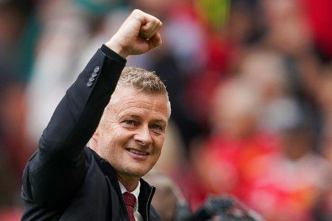 Solskjær fikk sin 100. kamp som Manchester United-trener søndag.