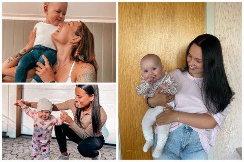 Sandra Leren, Iselin Stanbolac og Maren Yttervik vlogger på Snapchat-kontoen Mamma Squad om hvordan livet som ung mor er.